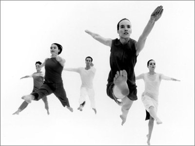 Trisha Brown Dance Company Technique and Repertory with Mariah Maloney