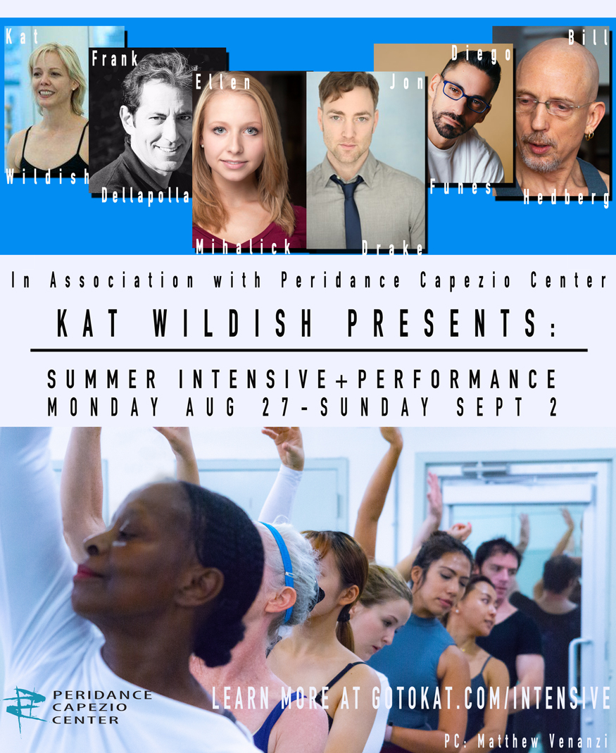 Kat Wildish Presents: Summer Intensive + Performance