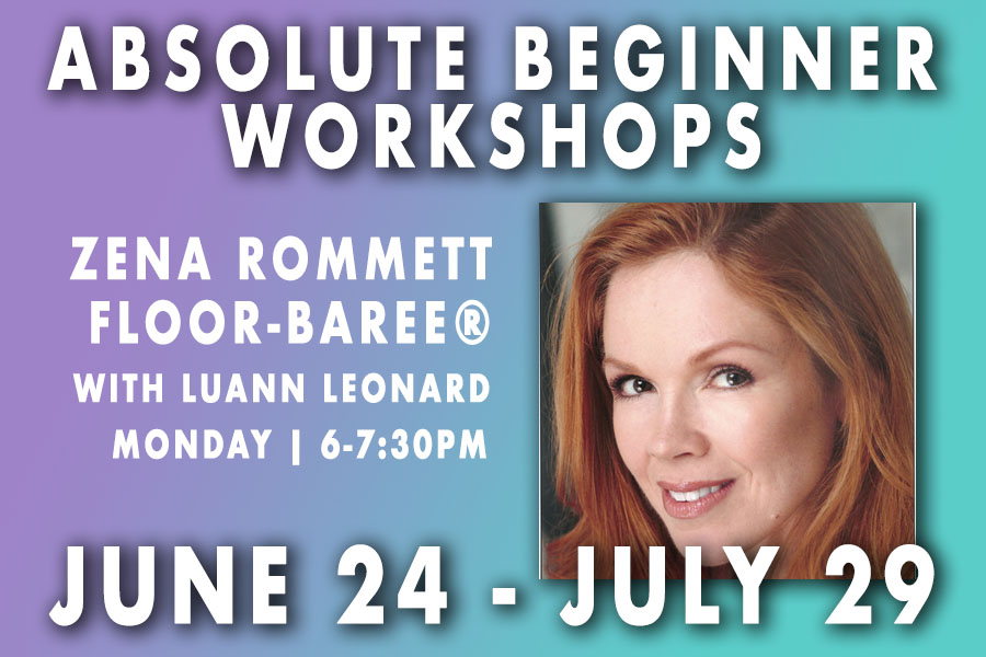 Absolute Beginner Zena Rommett Floor Barre with LuAnn Leonard