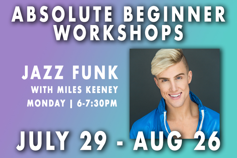 Absolute Beginner Jazz Funk with Miles Keeney