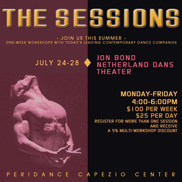 The Sessions: Nederlands Dans Theater Repertory with Jon Bond