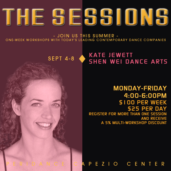 The Sessions: Shen Wei Dance Arts // Kate Jewett