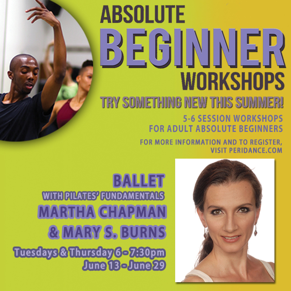 Absolute Beginner Ballet with Mary Burns & Martha Chapman