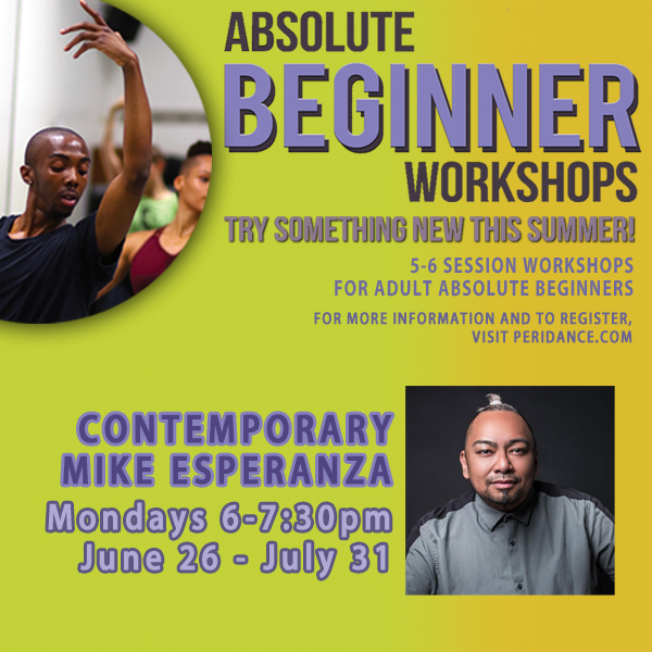 Absolute Beginner Contemporary with Mike Esperanza