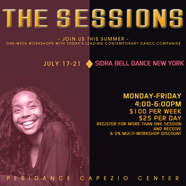 The Sessions: Sidra Bell Dance NY