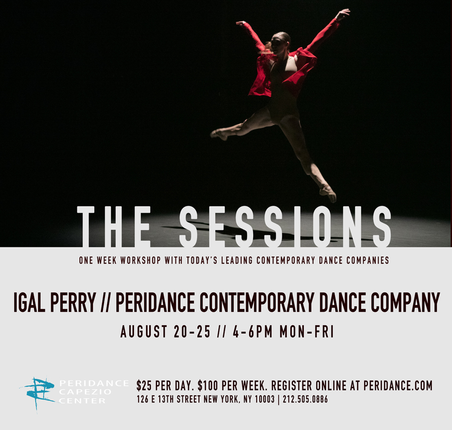 The SESSIONS: Peridance Contemporary Dance Company Workshop and Audition