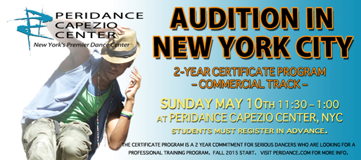 New York Dance Audition