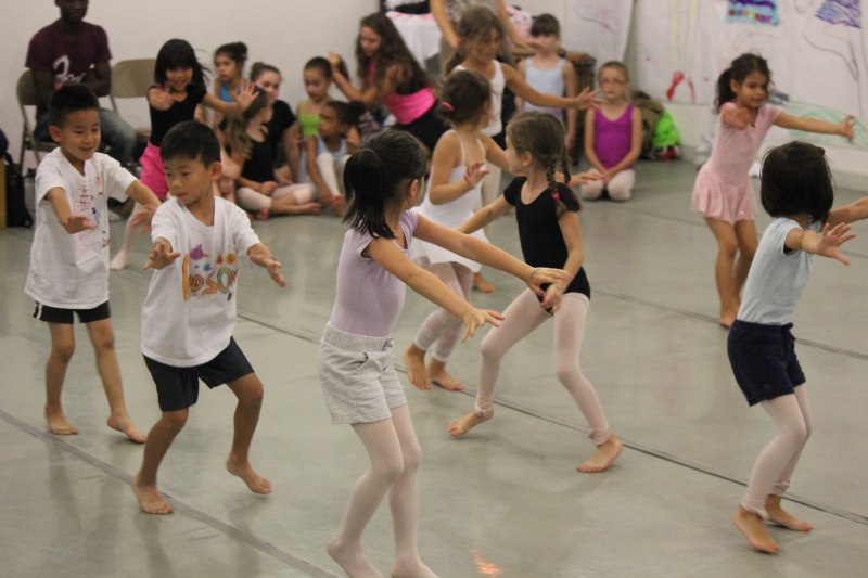 School at Peridance Dance Camp