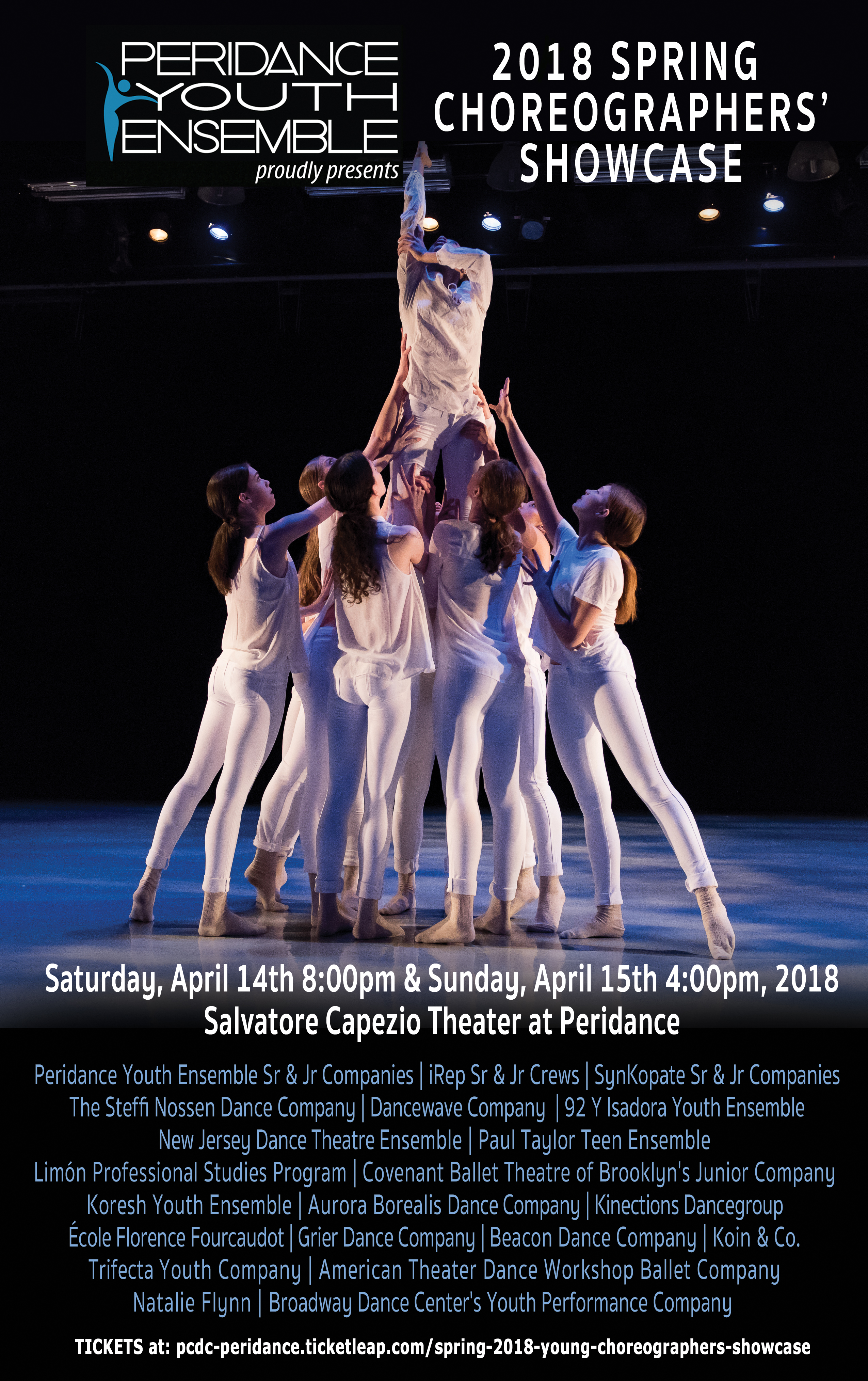 Spring choreographers showcase peridance capezio center experience peridances unparalleled creativity and talent malvernweather Gallery