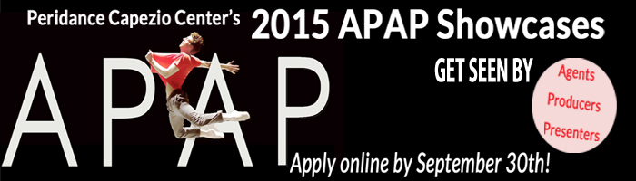 APAP at Peridance 2015 application