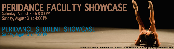 Peridnace Faculty Student Showcase Aug 2014