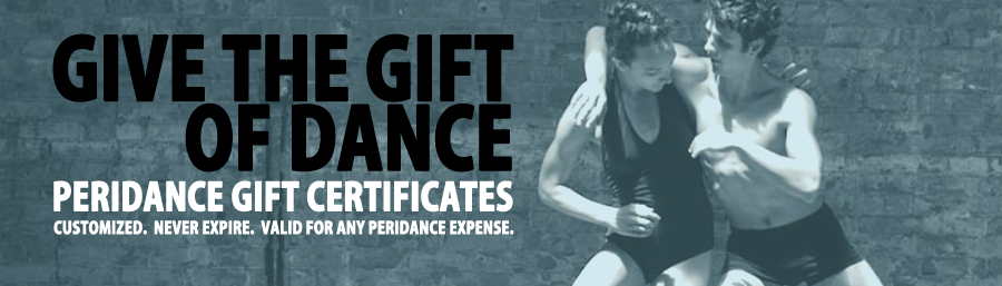 Peridance Gift Certificates