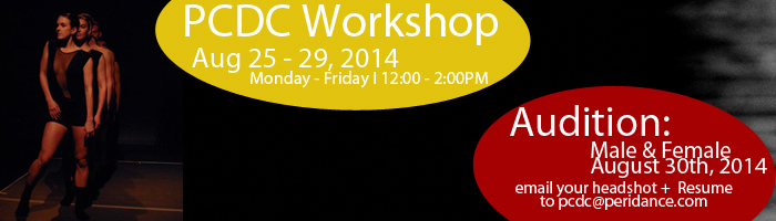 PCDC Workshop and Audition 2014