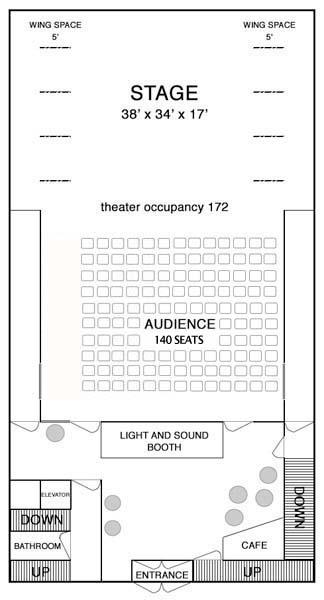 Maps rentals peridance capezio center ground floortheater configuration malvernweather Choice Image
